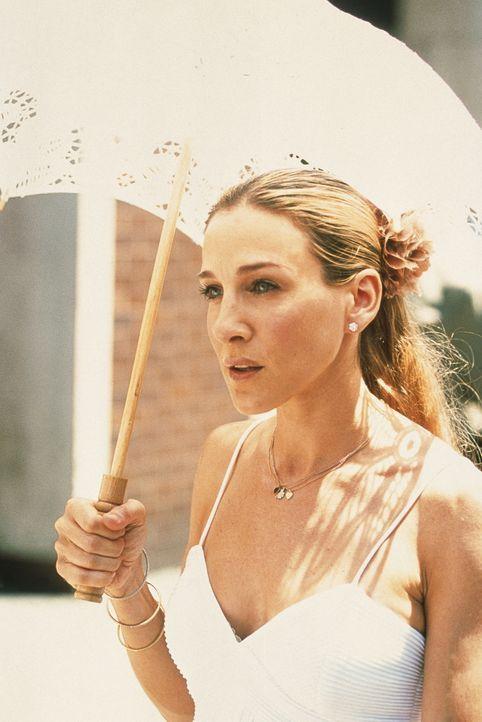 Carrie (Sarah Jessica Parker) stellt Nachforschungen in ihrer eigenen Vergangenheit an. Sie sucht ihren One-Night-Stand, der 13 Jahren zurückliegt,... - Bildquelle: Paramount Pictures