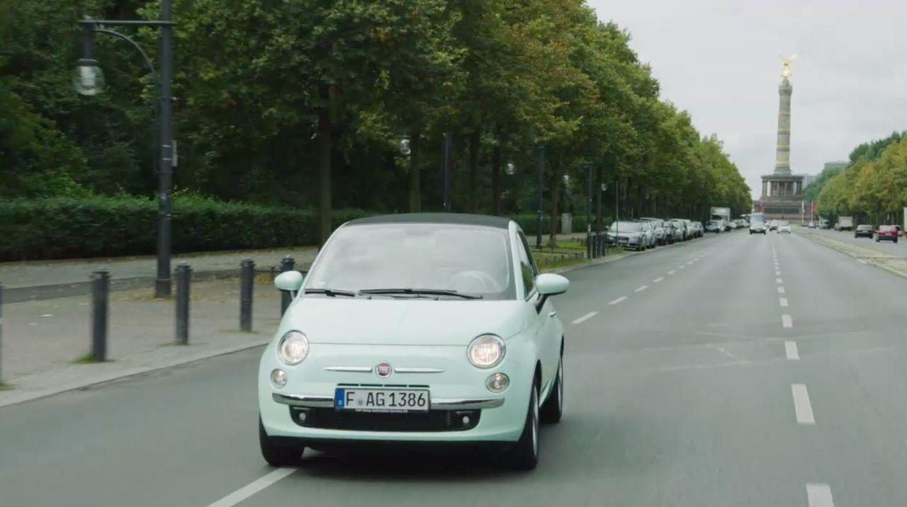 Moderatorin Annemarie Carpendale flitzt in dem neuen Fiat 500 durch die Republik und macht aus dem Auto das kleinste TV-Studio Deutschlands. Auf ihr... - Bildquelle: Sixx