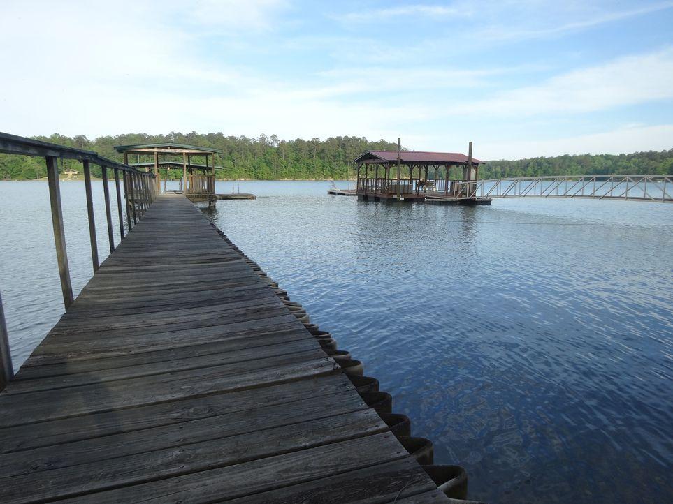 Abwechslung zum Arbeitsalltag - ein Haus direkt am Lewis Smith Lake soll Leslie und Joseph mehr Zeit zum Entspannen und für ihre Kinder geben ... - Bildquelle: 2015,HGTV/Scripps Networks, LLC. All Rights Reserved
