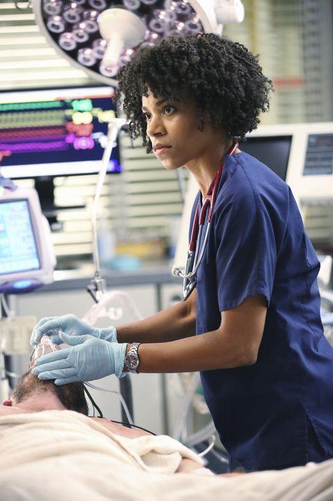 Versucht Meredith mit Talent und Scharm für sich zu gewinnen: Dr. Maggie Pierce (Kelly McCreary) ... - Bildquelle: ABC Studios