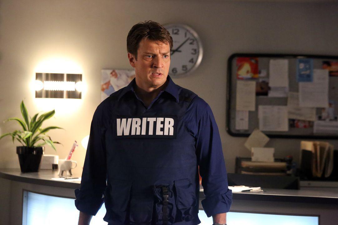 Eine junge Frau, die behauptet Richard Castles (Nathan Fillion) größter Fan zu sein, wird des Mordes verdächtigt. In einer Zahnarztpraxis nimmt sie... - Bildquelle: ABC Studios