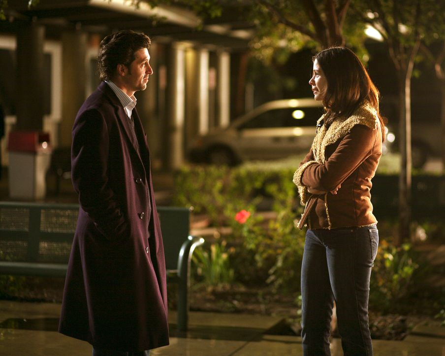 Finden Derek (Patrick Dempsey, l.) und Rose (Lauren Stamile, r.) Gefallen aneinander? - Bildquelle: Touchstone Television