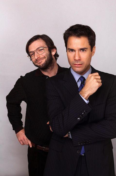 Nach einigen Überredungskünsten von Karen, hat sich Will (Eric McCormack, vorne) doch noch breitschlagen lassen zu einem Blinde-Date mit ihrem Cou... - Bildquelle: NBC Productions