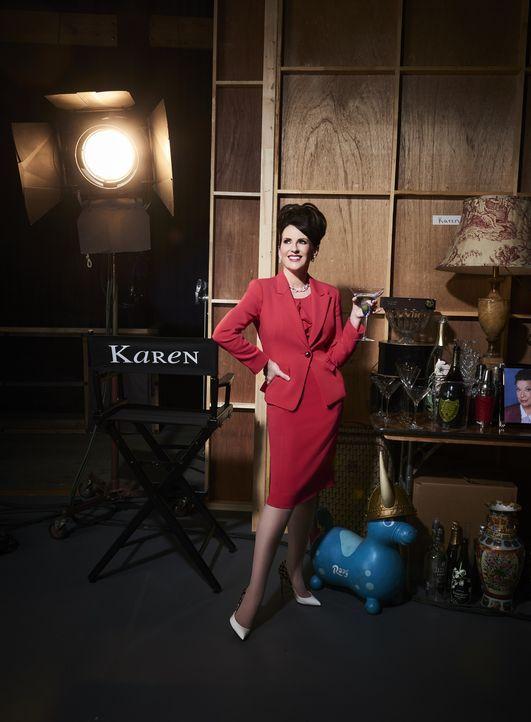(9. Staffel) - In den vergangenen elf Jahren hat sich so einiges verändert, doch eins ist wie eh und je: Karens (Megan Mullally) Vorliebe für einen... - Bildquelle: Andrew Eccles 2017 NBCUniversal Media, LLC / Andrew Eccles
