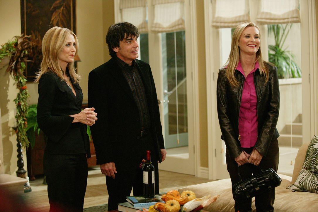 Sandy (Peter Gallagher, M.) und Kirsten (Kelly Rowan, l.) werden sofort von Rachel (Bonnie Somerville, r.) und Jimmy durchschaut ... - Bildquelle: Warner Bros. Television