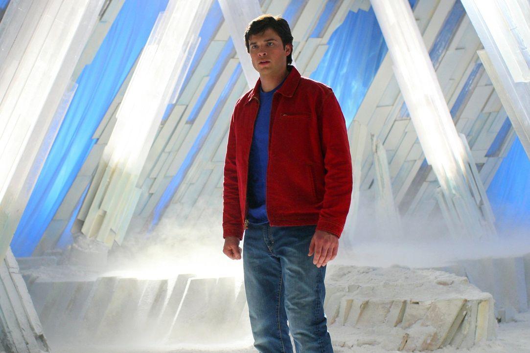 Als Clark (Tom Welling) Lex in der Festung der Einsamkeit stellen will, passiert etwas, was für beide eine immense Bedeutung haben wird ... - Bildquelle: Warner Bros.