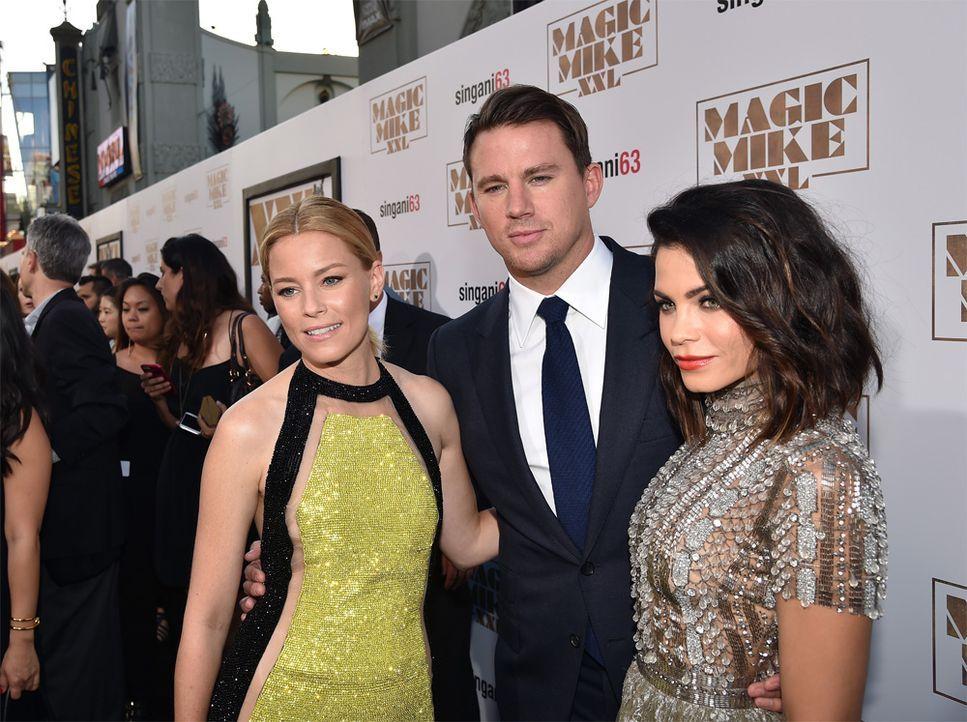 Channing Tatum mit hübschen Begleiterinnen - Bildquelle: AFP