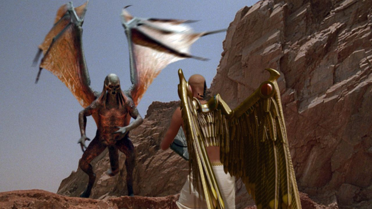 Steht Danny bei: Pharao Tutanchamun (Francisco Bosch) ... - Bildquelle: 2006 RHI Entertainment Distribution, LLC