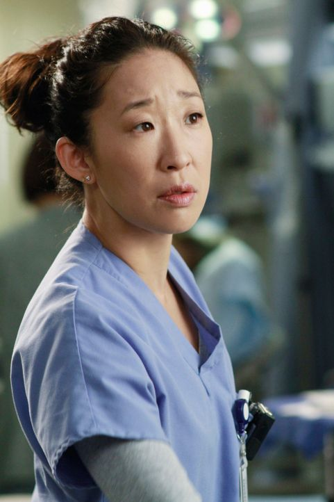 Muss sich zu einer schweren Entscheidung bezüglich ihrer Schwangerschaft durchringen: Cristina (Sandra Oh) ... - Bildquelle: ABC Studios
