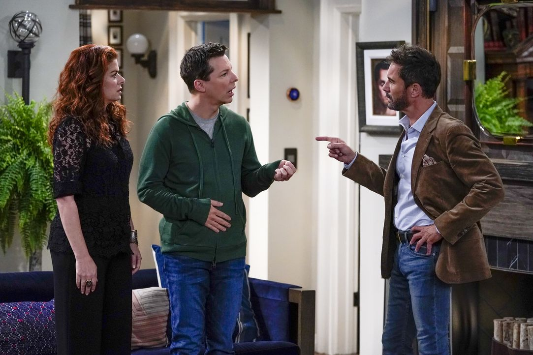 (v.l.n.r.) Grace (Debra Messing); Jack (Sean Hayes); Will (Eric McCormack) - Bildquelle: Chris Haston 2018 Universal Television LLC. ALL RIGHTS RESERVED. / Chris Haston