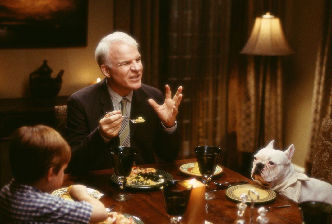 Um die milliardenschwere Mrs. Arness für die Kanzlei zu gewinnen, lädt Peter (Steve Martin) sie zu einen familiären Dinner nach Hause ein. Ausges... - Bildquelle: Touchstone Pictures