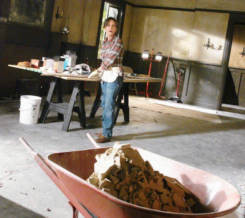 Nora (Sally Field) realisiert, dass das zukünftige Familienzentrum, eine einzige Bruchbude ist. Wird das Projekt scheitern? - Bildquelle: 2008 ABC INC.