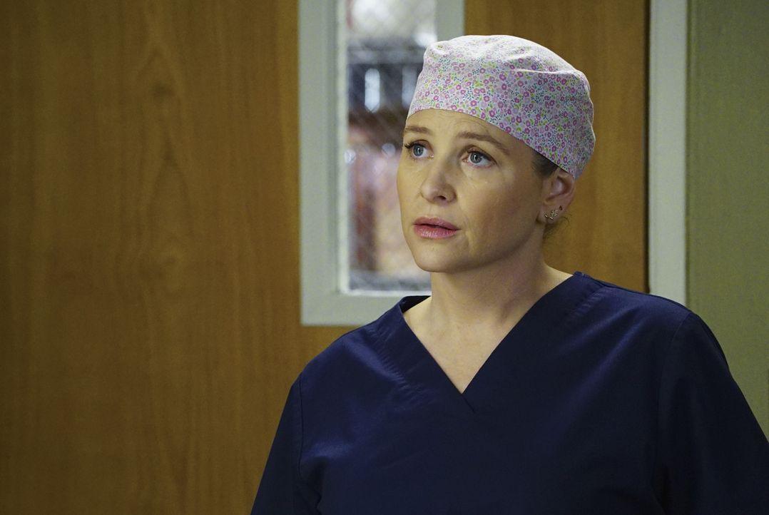 Weiß, dass sie einen Fehler gemacht hat, Jackson über Aprils Schwangerschaft zu informieren: Arizona (Jessica Capshaw) ... - Bildquelle: Richard Cartwright ABC Studios