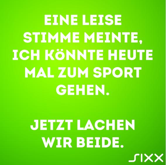 Visual Statements: Sport ist Mord - Bildquelle: sixx