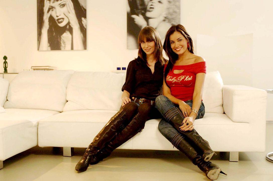 Jana Ina (r.) und Jelena (l.) sind sich sicher: In jedem Freak steckt ein toller Mann! - Bildquelle: ProSieben