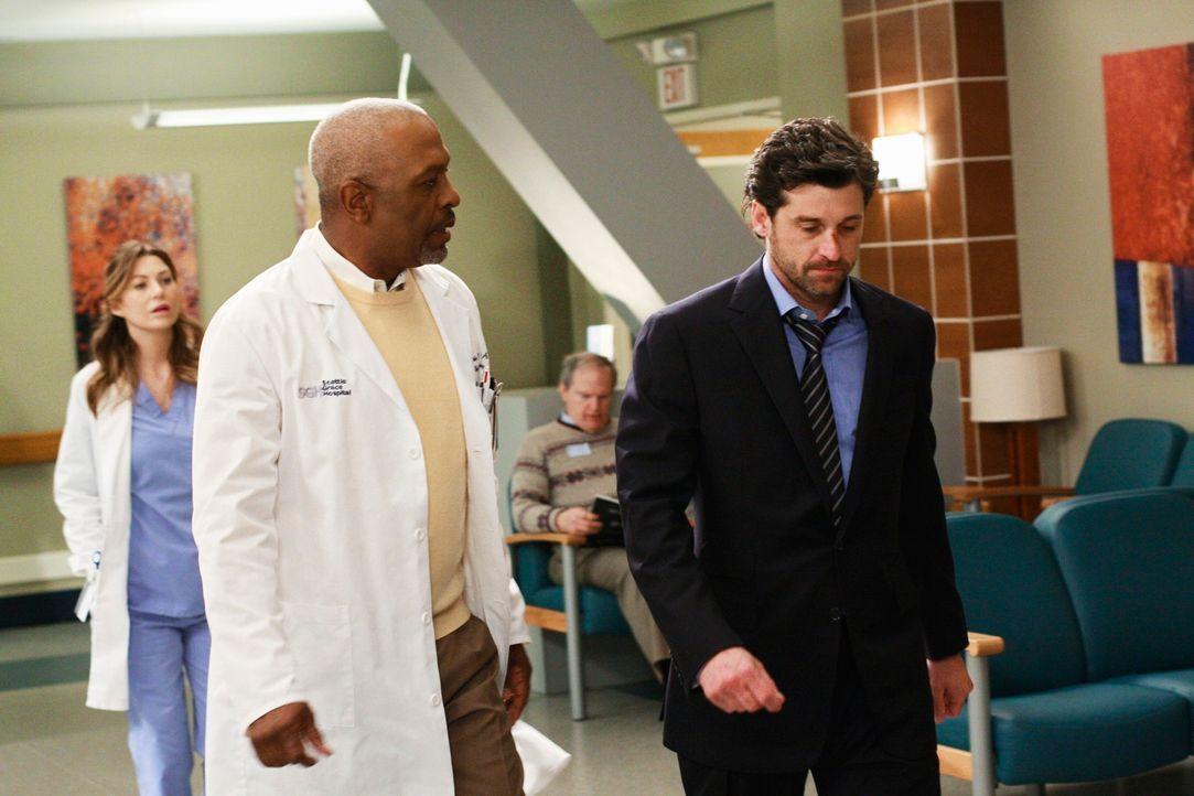 Nachdem Derek (Patrick Dempsey, r.) erfahren hat, dass in letzter Zeit mehr von seinen Patienten gestorben sind, als er retten konnte, entschließt... - Bildquelle: Touchstone Television