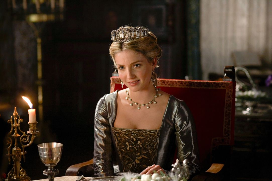 Hat eine freudige Nachricht für Henry: Jane (Annabelle Wallis) ... - Bildquelle: 2009 TM Productions Limited/PA Tudors Inc. An Ireland-Canada Co-Production. All Rights Reserved.