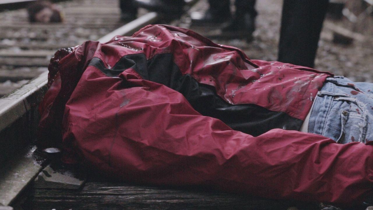 Ein Zugführer entdeckt eine enthauptete Leiche auf den Gleisen einer einsamen Zugstrecke. Um den Fall zu lösen, muss Lieutenant Joe Kenda auf eine S... - Bildquelle: MMXV DISCOVERY COMMUNICATIONS, LLC.