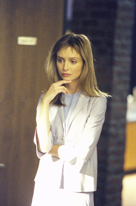 Nachdem Ally (Calista Flockhart) monatelang mit einem mysteriösen Fremden erotische Internetnachrichten ausgetauscht hat, möchte sie diesen jetzt un... - Bildquelle: 2000 Twentieth Century Fox Film Corporation. All rights reserved.