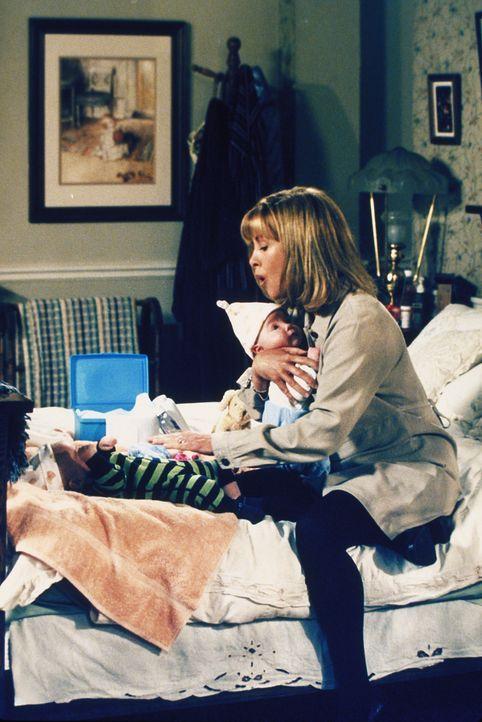 Die Zwillinge fordern Annies (Catherine Hicks) volle Aufmerksamkeit ... - Bildquelle: The WB Television Network