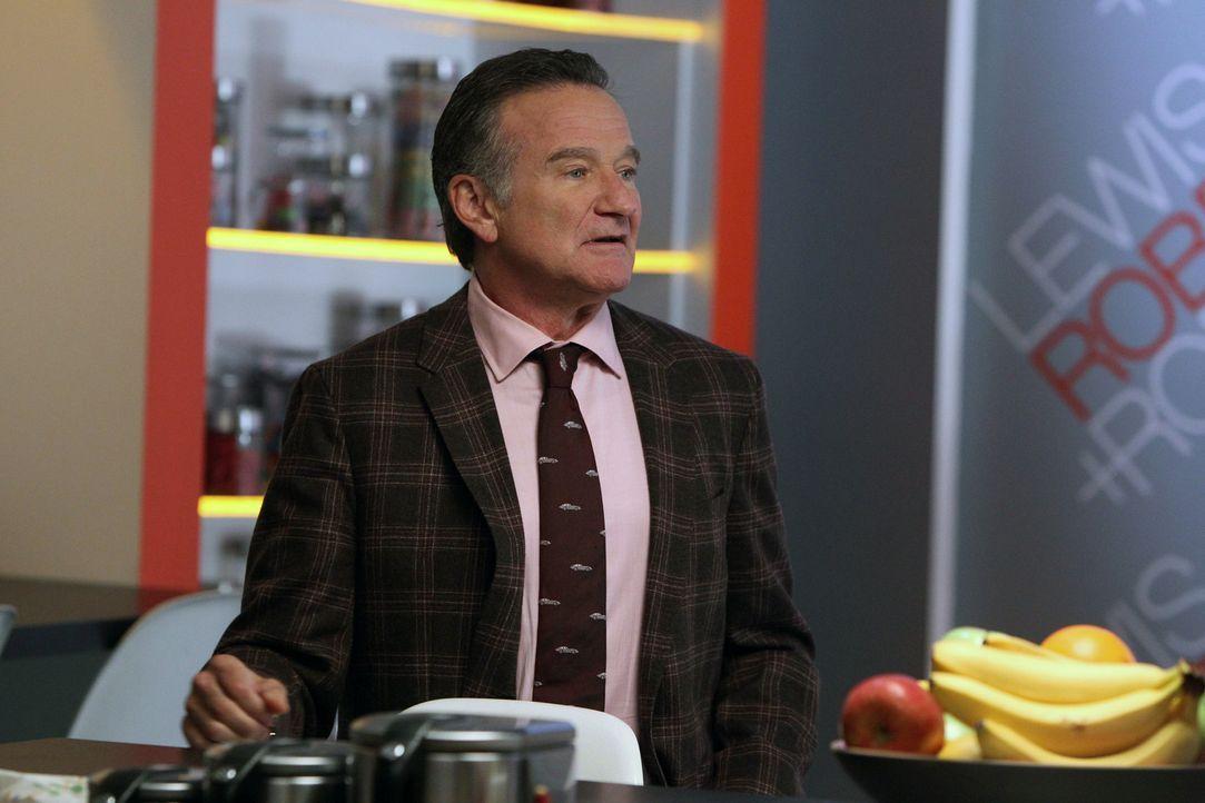 Findet sich plötzlich als Liebhaber einer Klientin wieder: Simon (Robin Williams) ... - Bildquelle: 2013 Twentieth Century Fox Film Corporation. All rights reserved.