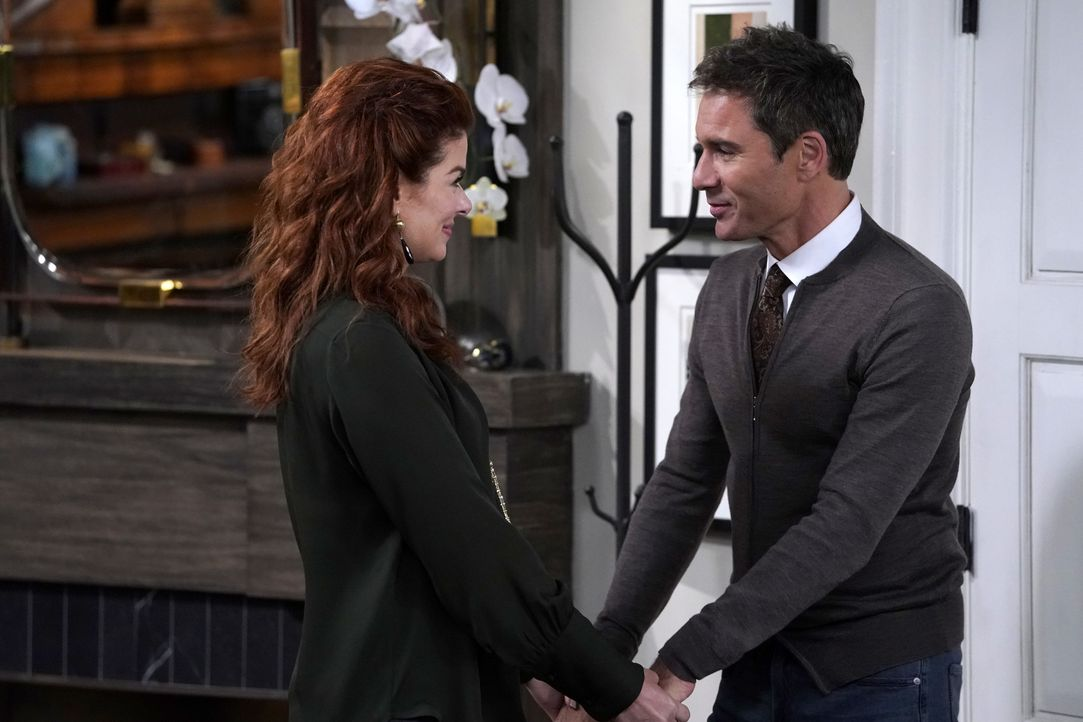 Grace (Debra Messing, l.); Will (Eric McCormack, r.) - Bildquelle: Chris Haston 2018 NBCUniversal Media, LLC / Chris Haston