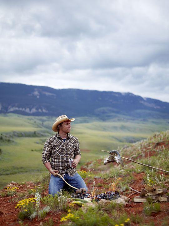 Jamies letzte Station in Amerika ist der Bundesstaat Wyoming. Der Starkoch begibt sich also mitten ins Herz des alten Wilden Westens. - Bildquelle: David Loftus 2009