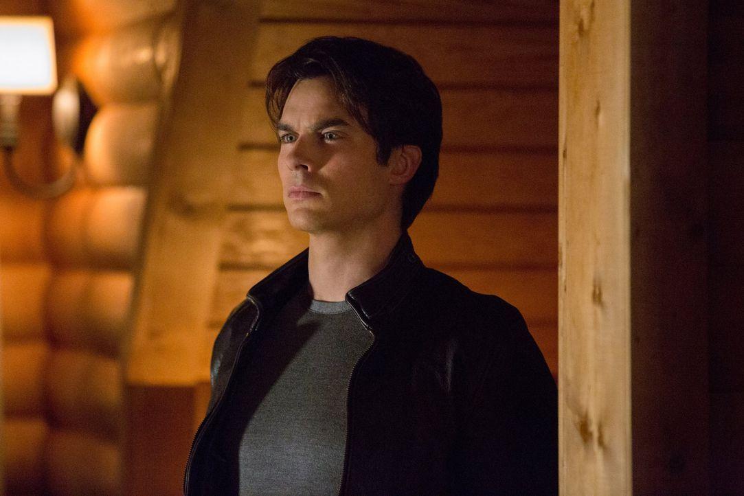 Als Verbündeter von Klaus, Trainer von Jeremy und Geliebter von Elena, häufen sich für Damon (Ian Somerhalder) eine Vielzahl von Aufgaben an ... - Bildquelle: Warner Brothers
