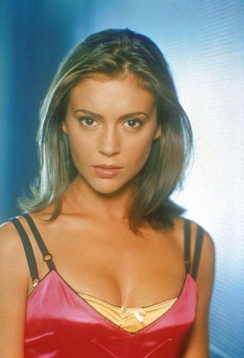 (2. Staffel) - Hat eine besondere Fähigkeit: Phoebe Halliwell (Alyssa Milano) sieht ihr eigenes Schicksal voraus ... - Bildquelle: Paramount Pictures