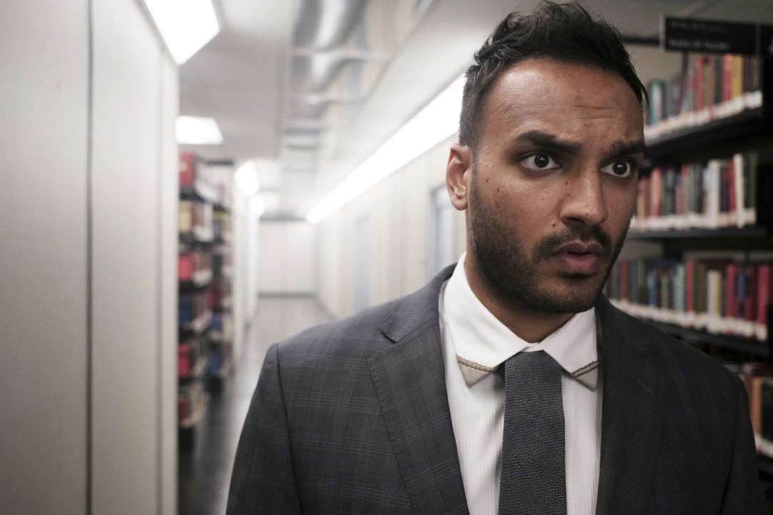 Penny (Arjun Gupta) - Bildquelle: Eike Schroter 2018 Syfy Media Productions LLC. ALL RIGHTS RESERVED./Eike Schroter