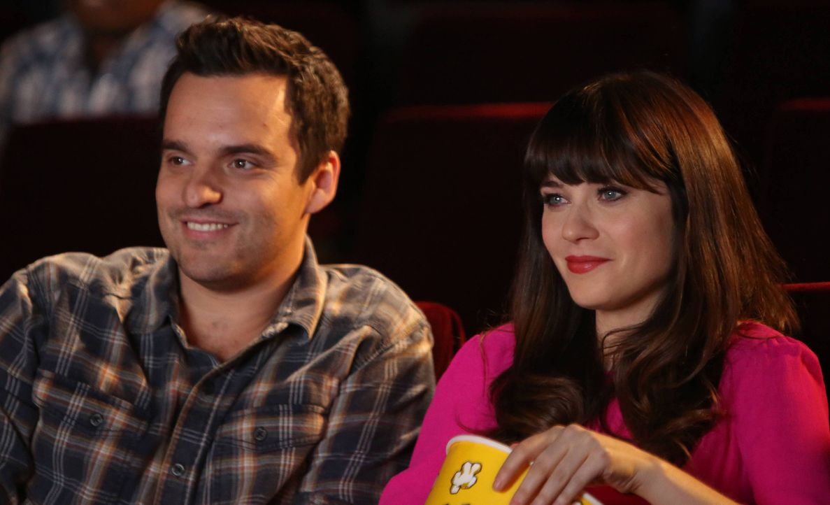 Für Jess' (Zooey Deschanel, r.) Geburtstag hat sich Nick (Jake M. Johnson, l.) dieses Jahr so richtig ins Zeug gelegt ... - Bildquelle: 2014 Twentieth Century Fox Film Corporation. All rights reserved.