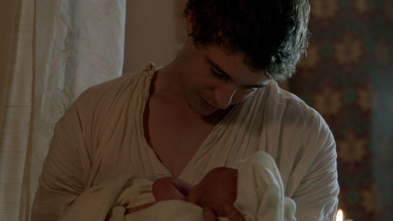 Um die Thronfolge zu sichern, muss ein Junge her. Wird König Edward IV (Max Irons) dieser Wunsch erfüllt werden? - Bildquelle: 2013 Starz Entertainment LLC, All rights reserved
