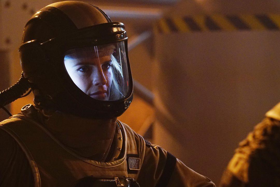 Wo soll Kate (Stana Katic) jetzt noch nach Richwoods Mörder suchen? Niemand von außen kann unbemerkt auf das Simulationsgelände, alle Crewmitglieder... - Bildquelle: Richard Cartwright ABC Studios / Richard Cartwright