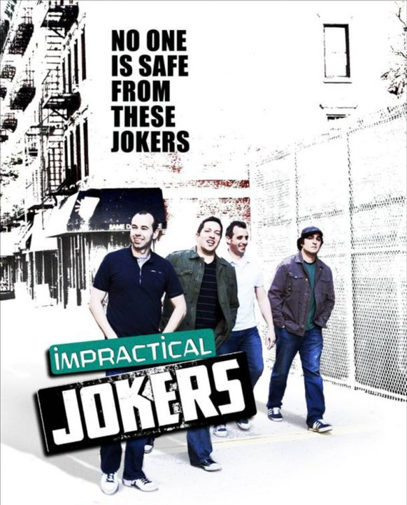 (1. Staffel) - IMPRACTICAL JOKERS - DIE LACHFLASHER! - Plakatmotiv - Bildquelle: 1900 Warner Bros.