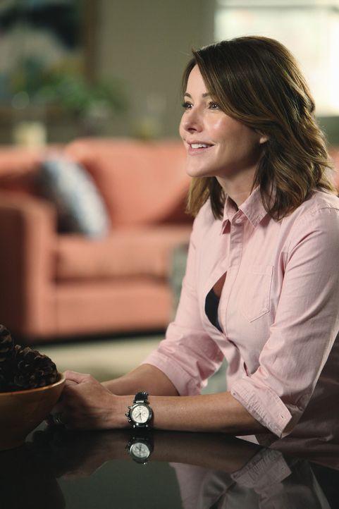 Ellie (Christa Miller) freut sich auf die sexy Night mit ihrem Mann Andy, bei der er nicht sprechen darf ... - Bildquelle: 2009 ABC INC.