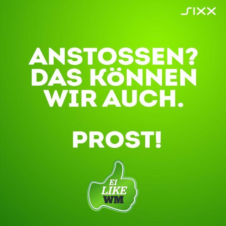 WM 2014: Funnyposts Prost - Bildquelle: sixx