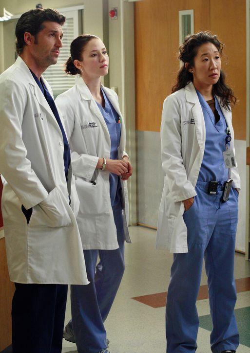 In der Notaufnahme trifft eine Frau namens Teresa ein, die fürchtet, dass ihr Baby tot ist. Cristina stellt fest, dass das Baby noch atmet, doch st... - Bildquelle: Touchstone Television