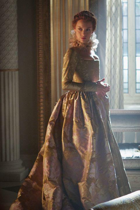 Königin Elizabeth (Rachel Skarsten) schlägt immer mehr Gegenwind entgegen, da kommt die Unterstützung von Catherine genau recht ... - Bildquelle: Sven Frenzel 2015 The CW Network, LLC. All rights reserved.
