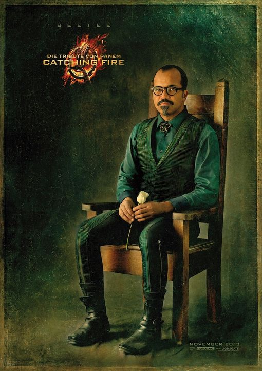 Jeffrey Wright als Beetee in Catching Fire - Bildquelle: Studiocanal