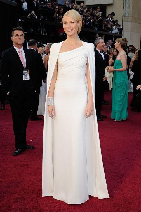 Gwyneth Paltrow bei den Oscars 2012 - Bildquelle: AFP