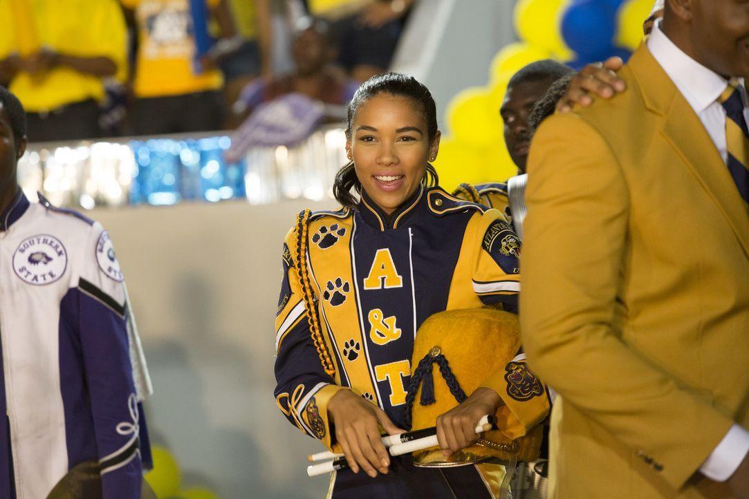 Gegen den Willen ihrer Eltern entscheidet sich Dani (Alexandra Shipp), nach Atlanta zu ziehen, um dort in der Percussion-Band eines renommierten Mus... - Bildquelle: 2014 Viacom International Inc. All rights reserved.