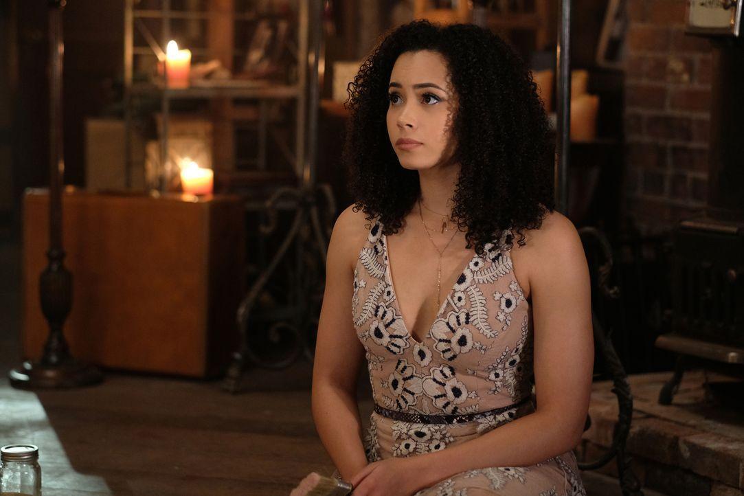 Macy Vaughn (Madeleine Mantock) - Bildquelle: Robert Falconer 2018 The CW Network, LLC. All Rights Reserved.