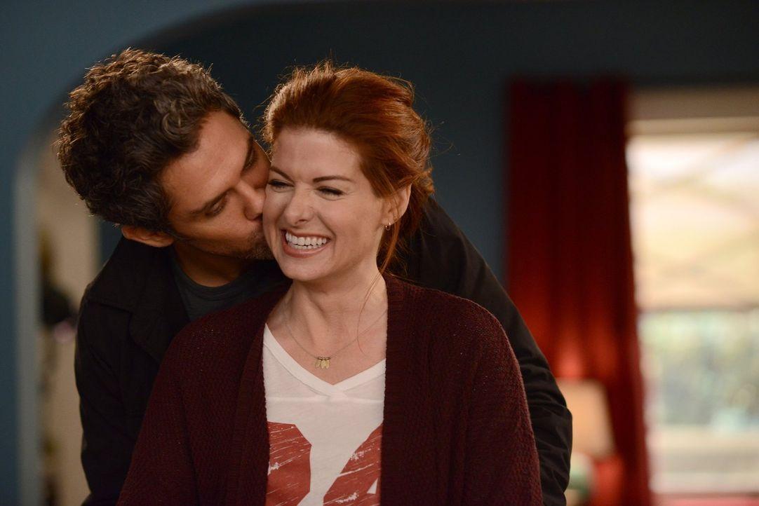 Hat ihre Beziehung eine Zukunft? Tony (Neal Bledsoe, l.) und Laura (Debra Messing, r.) ... - Bildquelle: Warner Bros. Entertainment, Inc.