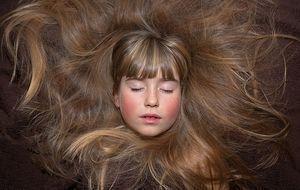 schöne und lange Haare