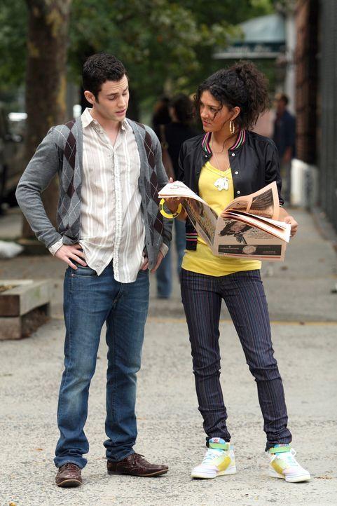 Sie kennen sich schon ewig und haben sich über ein Jahr nicht gesehen. Da taucht Vanessa (Jessica Szohr, r.) wieder in der Stadt auf, und Dan (Penn... - Bildquelle: Warner Brothers