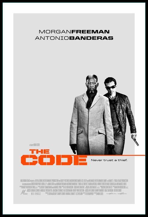 The Code - Vertraue keinem Dieb - Plakatmotiv - Bildquelle: Nu Image