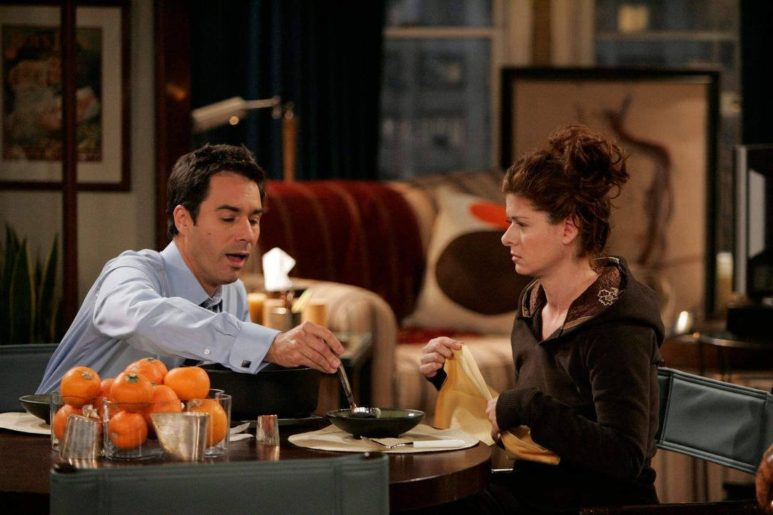 Krisensitzung: Will (Eric McCormack, l.) und Grace (Debra Messing, r.) ... - Bildquelle: NBC Productions