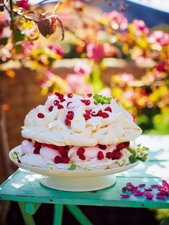 Der traumhafte Marshmallow-Baiser-Kuchen sieht nicht nur gut aus ... - Bildquelle: FRESH ONE PRODUCTIONS MMXIV