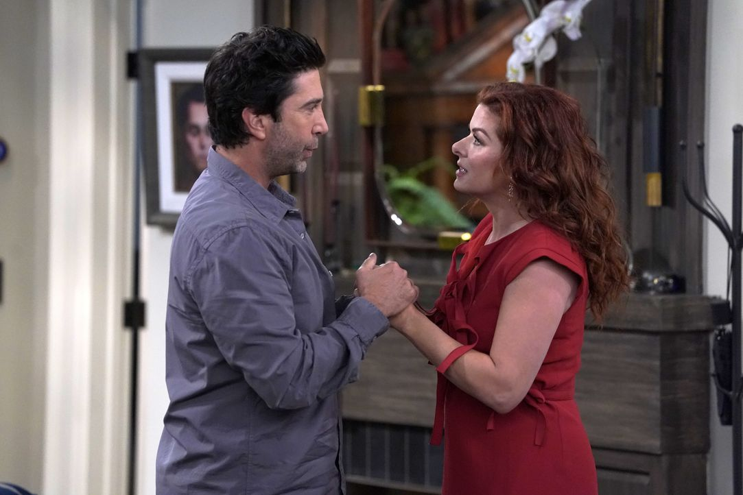 Noah (David Schwimmer, l.); Grace (Debra Messing, r.) - Bildquelle: Chris Haston 2018 Universal Television LLC. ALL RIGHTS RESERVED./Chris Haston / Chris Haston