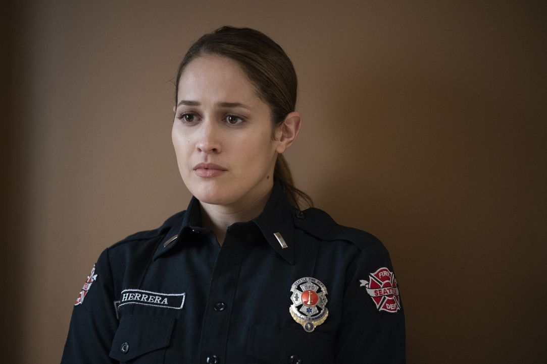 Andy Herrera (Jaina Lee Ortiz) - Bildquelle: Eric McCandless 2019 American Broadcasting Companies, Inc. All rights reserved. / Eric McCandless